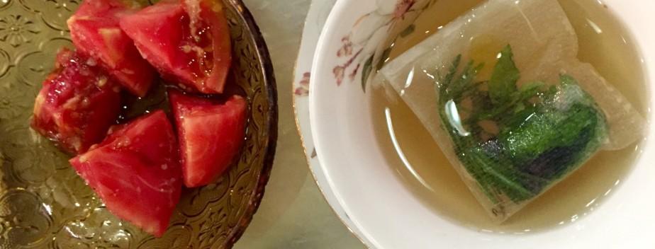 Tomato Consommé